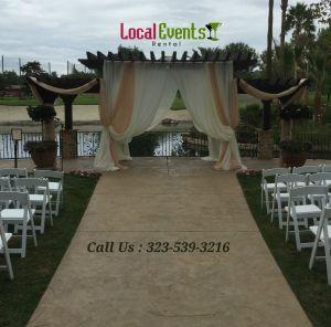 Los Angeles Wedding Rentals