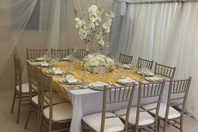 party for wedding rentals